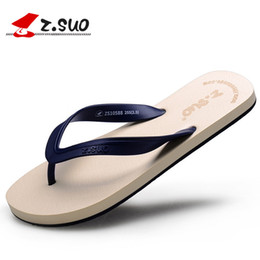 24961b15eaf3 ZSUO Brand 2018 NEW Summer Lovers Flip Flops EVA Comfortable Beach Shoes  Casual Slippers Men Flip Flop Homme Slippers Size 35-44