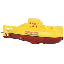 Jouets alimentés par usb en Ligne-Nouveau Camouflage RC sous-marin Speedboat Modèle Chargement USB haute puissance 3.7V grand modèle RC jouet sous-marin