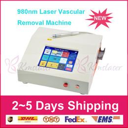 laser de alta freqüência Desconto 980 remoção de veia da aranha máquina de laser de diodo de alta freqüência unha remoção do fungo 980nm diodos equipamentos a laser