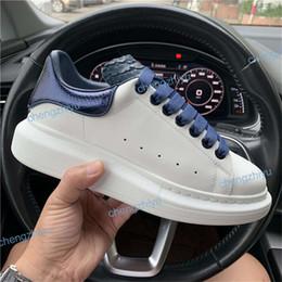 aumento de altura dos sapatos Desconto Sapatos de grife de couro de moda de luxo tênis para mulheres dos homens top qualidade 3 M branco reflexivo Sapatos de plataforma de altura crescente caminhada de jogging
