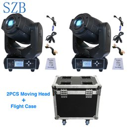 Argentina SZB 90W Gobo LED Lyre Moving Head Light 3 Face Prism 6/16 Channel con Flight Case 2in1 para Disco DJ Stage Party Light / SZB-MH90 cheap moving head case Suministro