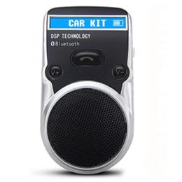 Solar Powered Bluetooth Car Kit Affichage LCD Identification de l'appelant Mains Libres Bluetooth Haut-parleur dans la voiture Appels mains libres ? partir de fabricateur