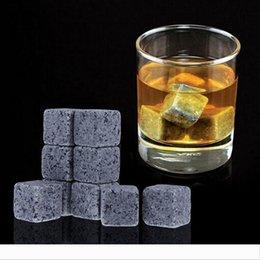 Argentina La venta caliente 9 5wj B Suministros cuadrada del cubo de hielo con terciopelo bolsa de almacenamiento Ices Bloque Para el hogar beber vino Suministro