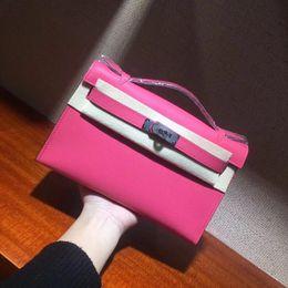 Poignées en sac métallique en Ligne-Sac fourre-tout classique pour femme, sac à dîner de designer français, top stylé avec poignée en cuir, métal doré et métal argenté en option