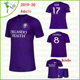MLS Orlando City 2019 Camisas De Futebol 19 20 Colmán Mueller Dwyer KAKA Patiño NANI Casa camisa de futebol roxo 2020 J.MENDEZ Uniforme de Futebol de