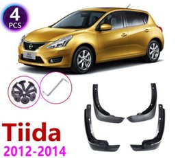 4X Front Rear Black Mud Flaps Mud Guards Splash Fenders For NISSAN Versa Sunny