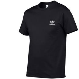 Noir Blanc Mode Été Hommes T-shirts D'été Coton Tees Planche À Roulettes Hip Hop Streetwear T-shirts AD designer ? partir de fabricateur