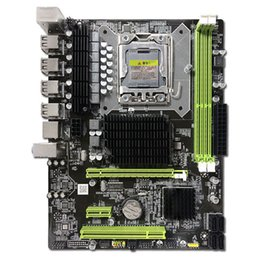 Computer desktop ddr3 online-Scheda madre 1366 Intel X58 LGA1366 Socket B DDR3 ATX per computer desktop Core i7 e Xeon CPU Server Workstation