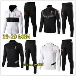 Футбольные куртки онлайн-19 20 Мужчины футбол костюм куртка балахон 2019 2020 футбол спортивный костюм куртки спортивный костюм бег трусцой chandal survetement стопы
