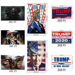 Fahne 3x5 ft online-Fashion Trump 2020 Flag Präsident Wahl Keep Make America Great Again Fahnen 3x5 FT Unterstützung Banner Home Decor TTA1573