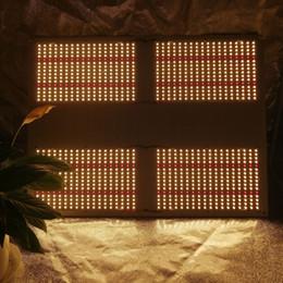 Placas de condutor de luz led on-line-Compre QB288 hlg 550 v2 480w placa quântica lm301b 3000k 3500k 660nm led grow light kit com meanwell led driver HLG-480H-48B