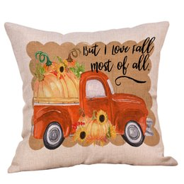 Carino Home Car Bed Divano Decorativo Halloween Lettera Cuscino Cuscino Home Cuscino in poliestere cojines decorativos para sof da