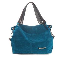 Designer Handbag Mulheres Grande Shoulder os do mensageiro Top-handle Bags Feminino macia Corduroy Vintage bolsas de lona de Fornecedores de bolsa de boliche suave
