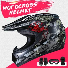 2019 tanque de techo Barato s Nuevo Motorcross Casco de motocicleta Moto Casco Hombres de cara completa Motocross Racing Moto Dirt Bike Casco de descenso