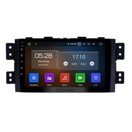 Sistema de navegación GPS para coche con pantalla táctil de Android 9.0 HD con pantalla táctil de 9 pulgadas para Kia Borrego 2008-2016 con soporte DVR OBD II USB / DVD desde fabricantes