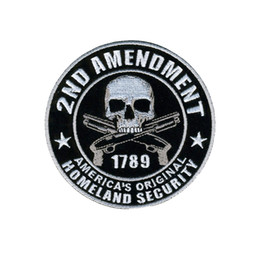 Patch di sicurezza online-Hot Leathers Homeland Security iron sew on embroidered Patch DIY Accessory Sewing Supplies repair clothes patch