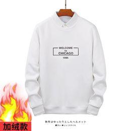 Куртка qiu dong онлайн-Добавить пуховый свитер мужской qiu dong harbor агитация Марка круглый вырез diadigan человек куртка черный и белый свитер Свитер
