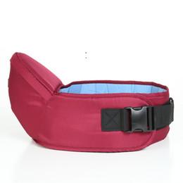 Mochilas portabebés online-Hipseat Belt Kids Infant Hip Seat Toddler Children Baby Carrier Taburete Taburetes Bebé Sling Hold Cintura Cinturón Mochila