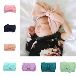 Baby Kids Noeud Papillon Serre-Tête Nouveau-né élastique Tiara Headwear Enfants Cheveux Bande