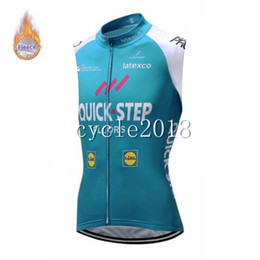 2019 Hızlı Adım ekibi Bisiklet Kış Termal Polar jersey kolsuz açık spor giyim bisiklet giyim Maillot Ropa Ciclismo Hombre nereden