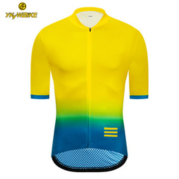 Diseño ciclismo jersey pantalones cortos online-YKYWBIKE Ciclismo Jersey 2019 Hombres Verano Manga corta MTB Bicicleta Ciclismo Ropa Ropa Maillot Ciclismo Racing Bicicleta Ropa Diseño personalizado