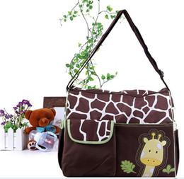 Sacs en zèbre en gros en Ligne-sacs à couches animaux sacs à couches sac de couches zèbre girafe babyboom multifonctionnel mode infanticipate mère bébé sacs sac en gros