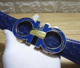 Argentina Venta caliente Gran hebilla grande cinturón de cuero genuino cinturones de diseño hombres mujeres alta calidad nuevo para hombre cinturones de lujo cinturón como regalo Suministro