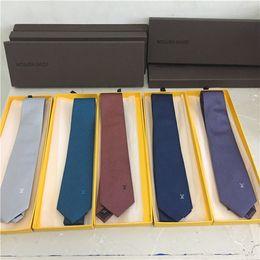 2019 caixas de gravata por atacado Laços dos homens novos por atacado 100% gravata de seda dos homens gravata partido Gravatas Gravatas negócios casual empate caixa de presente embalagem caixas de gravata por atacado barato