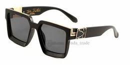 2019 sommer klassischen frauen stil Modedesigner Quadrat Sonnenbrille Frauen Gradienten 2019 Sommer Stil Klassische Frauen Sonnenbrille Weibliche Große Quadratische Brillen 6 farben 10 stücke rabatt sommer klassischen frauen stil