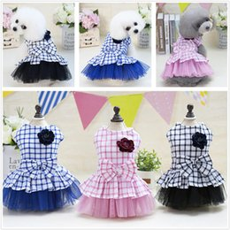 dogs tutu clothes Coupons - pet dog accessories Pet Dog Clothes Pets Summer Dogs Harness Skirt Clothes Small Dog Dress Pet Tutu Dress Wedding Dress drop ship