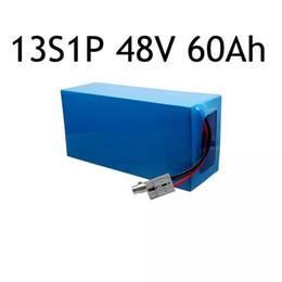 Bateria de 48V60Ah BatteryPack 13S 1P 48V 60Ah para a motocicleta elétrica pacote de bateria da motocicleta elétrica com bateria lipo de alta capacidade dentro de Fornecedores de mini barco solar