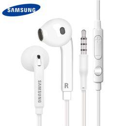 3gs mic Rebajas Para el auricular SAMSUNG Auriculares con cable 1.2 m Auricular 3.5mm Micrófono Samsung Galaxy S6 S7 S8 S8 S9 note9 auricular xiaomi iphone estéreo auricular