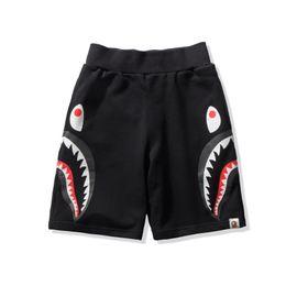 2019 haifischbacken Ape Shark Shorts AApe Japan Shark Jaw Camo Herren Designer Hosen Apes Kopf Hosen Weiß Herren Shorts ein Baden Männer Frau Sommer günstig haifischbacken
