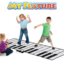 piano accessories Coupons - Sportmuscle Early Education Music Pad Oversized Pedal Piano Foot On The Keyboard Children's Piano Blanket Johnson With A Game Blanket