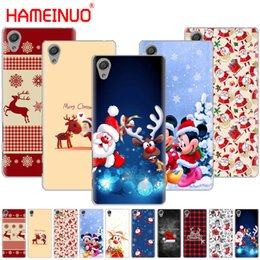 sony xperia m4 telefone Rabatt HAMEINUO Frohe Weihnachten Weihnachtsmann Hirsch Abdeckung Telefon Fall für Sony Xperia Z2 Z3 Z4 Z5 Mini Plus Aqua M4 M5 E5 E4 E5 E6 E5 C5