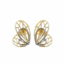 2019 frühling ohrringe 925 sterling silber butterfly wings ohrstecker für frauen europäischen stil schmuck original mode von Fabrikanten