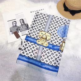 2019 tolle quellen 2019 luxus königliche marke mode designer langen schal 180 * 90 cm große qualität mode klassischen stil frühling sommer schals günstig tolle quellen
