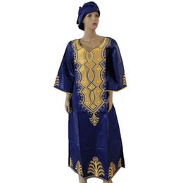 Направляясь на юг онлайн-MD африканские платья для женщин 2019 года новые африканские дасики плюс африканское платье размера ЮАР женская одежда с головными уборами