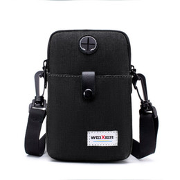 mini homens do saco traseiro Desconto 2019 Hot Waterproof Men Shoulder Bag Oxford Crossbody Bags Mini Back Pack USB Messenger Bag Men Small Bolsa de viagem