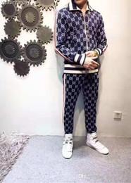 2019 .G G Fall new mens diseñador de lujo impresión de letras sudaderas chándales ~ tops hombres entrenamiento trotar sweat track trajes ncdd efrtea desde fabricantes