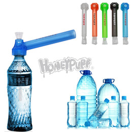 2019 accesorios esenciales Básicos de viaje portátiles Bongs de agua de vidrio para tabaco 160MM Acrílico Quemador de aceite Tubería Bongs de agua Acrílico Fumar Pipas de agua Accesorios rebajas accesorios esenciales