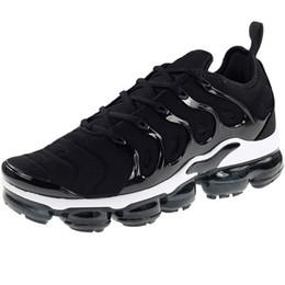 scarpe da ginnastica mens tn Sconti 60 colori Tn Plus 2019 Scarpe da corsa da uomo Sneakers da donna Scarpe da ginnastica da uomo Scarpe sportive firmate Triple Nero Bianco