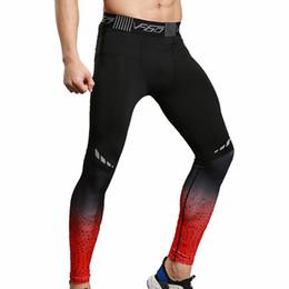 hombres de moda ajustados pantalones legging Rebajas Adisputent Mens Medias Pantalones de Los Hombres Leggings Otoño Moda Compresión Pantalones Elásticos Skinny Tight Fitness Slim Pantalones Legging