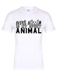fiore m Sconti Cheryl Blossom is my Spirit Animal - Maglietta unisex, Riverdale, Jughead, Tee Funny spedizione gratuita Maglietta casual top