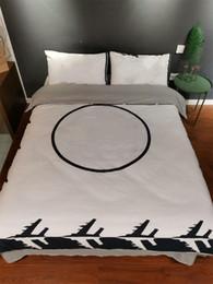estilo de hotel conjuntos de cama Desconto Marca Moda Conjuntos de Cama Conjuntos de Cama de Impressão Digital Estilo Especial Cama Padrão Edredons Terno Nova Chegada L1