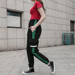 2019 weiße untere sporthose Neue Art- und Weisehosen Mittlere Taille Füße Beiläufiger Mann und Waman Rüttler nehmen lange Jogginghose Größe M-2XL Chap1703 ab