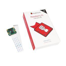 Cámara ic chip online-Freeshipping original oficial Raspberry Pi cámara V2 módulo con IMX219 chips sensibles a la luz 8MP píxeles 1080P video RPI 3 cámara