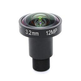 lunga distanza dalla fotocamera Sconti 12Megapixel (4K Lens) fisso M12 Lens 3,2 millimetri lente fisheye 160 gradi per la fotocamera 4K TVCC IP o 4K azione di sport DV