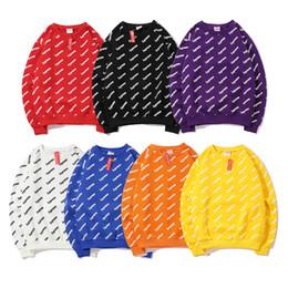 2019 camisolas de pescoço de qualidade Suprême marca designer de moletom com capuz 19FW novo Completa impresso camisola de gola de veludo Europa América moda de luxo mens moletom com capuz de qualidade desconto camisolas de pescoço de qualidade