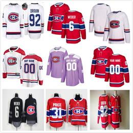 2019 montreal canadiens jersey xl Benutzerdefinierte Männer Frauen Jugend Montreal Carey Preis Jesperi Kotkaniemi Max Domi Brendan Gallagher Shea Weber Tomas Tatar Canadiens Eishockey Trikots rabatt montreal canadiens jersey xl